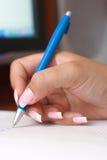 Écriture comptable Image libre de droits
