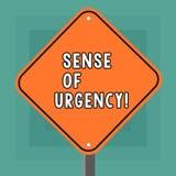 Écriture conceptuelle de main montrant la sensation d'urgence Priorité de présentation ou quelque chose de photo d'affaires premi illustration de vecteur