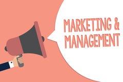 Écriture conceptuelle de main montrant le marketing et la gestion Processus des textes de photo d'affaires de développer des stra illustration stock