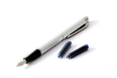 écriture de crayon lecteur Photographie stock libre de droits