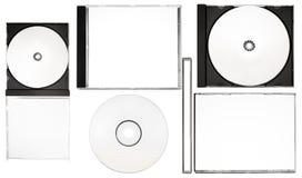 Écriture de labels de disque - positionnement d'écriture de labels complet de disque avec des chemins (fichier de XXL) Photos stock