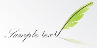 écriture de vecteur de clavette Image stock