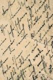 Écriture de vintage Fond de papier âgé par grunge Image stock