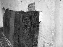Écriture en pierre Images stock