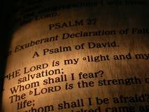 Écriture sainte Image libre de droits