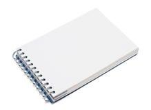 écriture vide de l'espace de cahier Photographie stock