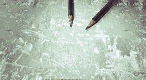 écrivez Photographie stock libre de droits