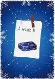 Écrivez vos souhaits. illustration libre de droits