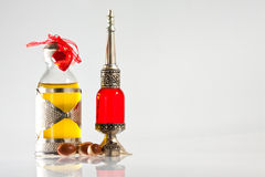 Écrou d'argan en cosmétiques Image libre de droits