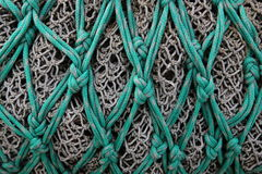 Écrous d'un fishingnet commercial Images stock