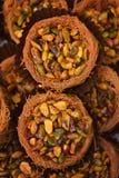 Écrous de mélange dans le panier de pâtes Photographie stock libre de droits