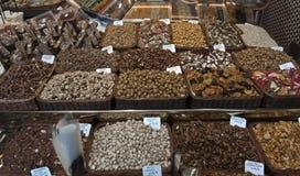 Écrous et céréales Image stock