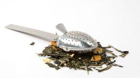 Écumoire de thé Image libre de droits