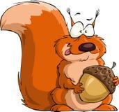 Écureuil illustration de vecteur