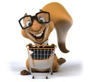 Écureuil d'amusement Images stock