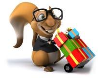 Écureuil d'amusement illustration libre de droits