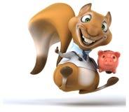 Écureuil d'amusement illustration stock