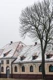 Écurie de Mazury OstrodaOld en Pologne Image libre de droits