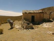 Écurie de moutons dans le nord de l'Argentine photo stock