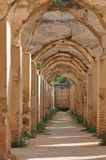 Écuries royales dans Meknes, Maroc Image stock