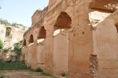 Écuries royales dans Meknes, Maroc Photo libre de droits