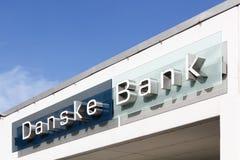 Édifice bancaire de Danske au Danemark photographie stock libre de droits
