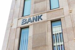 Édifice bancaire moderne photos libres de droits