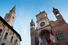 Édifice public Italie Photographie stock libre de droits