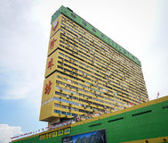 Édifices hauts à Singapour Photos stock