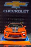 2018 édition chaude d'anniversaire de roues cinquantième de Chevrolet Camaro, NAIAS Image stock