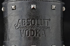 Édition de roche de vodka d'Absolut Photographie stock