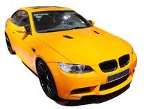 Édition jaune de tigre de BMW m3 de véhicule image stock