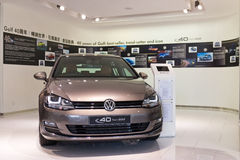 Édition limitée 2014 de Volkswagen Golf 2014 Image libre de droits