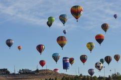 Éditorial chaud 2012 de ballon à air Photo libre de droits