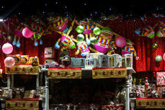 Éditorial, le 8 novembre 2015 : Frances : Alsace : Gertwiller : Gingerbre Photographie stock libre de droits