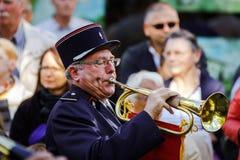 Éditorial, le 4 octobre 2015 : Barr, France : DES Vendanges de fête Photographie stock libre de droits