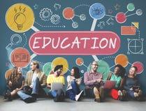 Éducation apprenant le concept d'idées de conception de créativité photos stock