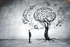 Éducation, croissance, échange d'idées et concept de carrière Photo stock