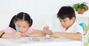 Éducation d'enfant Photo libre de droits
