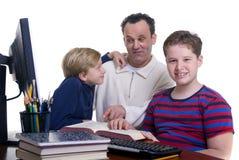 Éducation de famille Photographie stock libre de droits