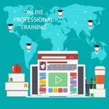 Éducation en ligne, éducation professionnelle Images stock