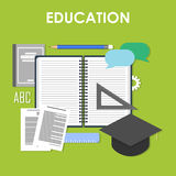 Éducation en ligne, éducation professionnelle illustration libre de droits