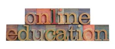 Éducation en ligne Photographie stock