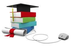Éducation en ligne Photo stock