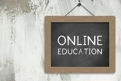 Éducation en ligne Photos libres de droits