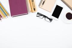 Éducation et concept d'espace de travail Images libres de droits