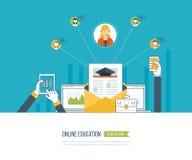 Éducation et cours en ligne Photographie stock libre de droits