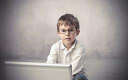 Éducation et technologie Photographie stock libre de droits