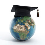 Éducation globale Photographie stock