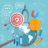 Éducation internationale de nouveau au concept d'obtention du diplôme d'école Photos libres de droits